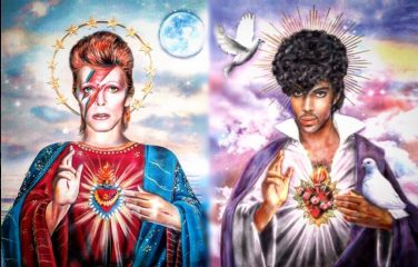 Bowie & Prince by Dirty Lola on Etsy