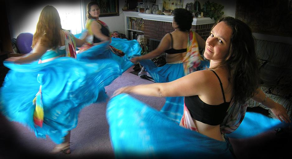 Raqs Vajra Dance class featuring Nadia Sahar